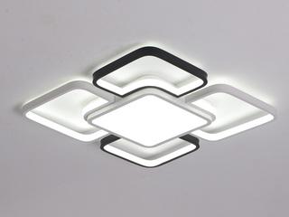华睿 客厅灯简约现代大气家用大灯正方形LE大厅吸顶灯  白色光