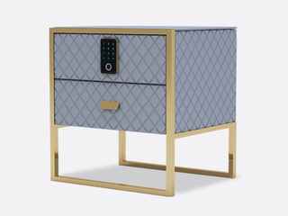 慕梵希 轻奢 A13钢化玻璃床头柜