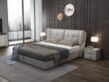 皮坊工艺 现代简约 C025 1.8米皮艺床