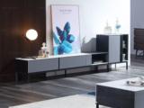 斐亚家居 极简风格 岩板面 细腻顺滑 碳素钢脚 2.0m电视柜
