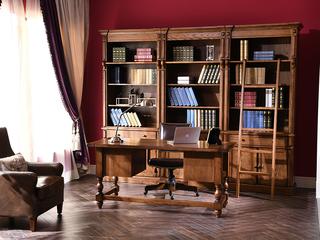 丹饰林 北美进口红橡 嘉宝莉环保漆 简美风格 艾米书桌