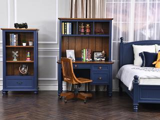 丹饰林 北美进口红橡+黄杨 嘉宝莉环保漆 简美风格  科罗拉多书桌