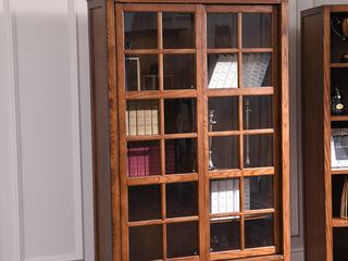 丹饰林 北美进口黄杨 嘉宝莉环保漆 简美风格 美式书柜