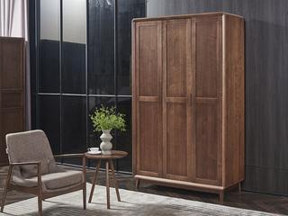 非色家具 北美进口白蜡木系列衣柜