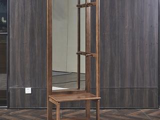非色家具 北美进口白蜡木系列穿椅镜