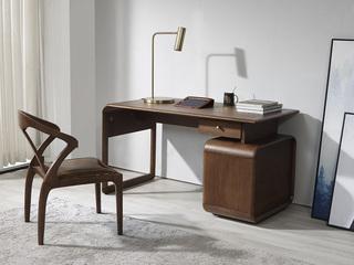 非色家具 北美进口白蜡木系列书椅