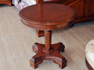 精美家 进口桃花芯实木 高档实木 休闲桌 角几 美式古典
