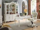精美家 优质进口桃花芯木 美式风格 书桌