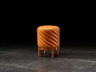 金华庭 简乌金系列 PU(座包)+乌金木(面板、柜体、脚)+妆凳