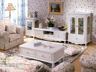 东方茉莉 橡胶木(整体框架,四个脚)+玻璃象牙白单门酒柜
