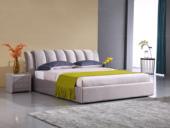 合盛佐罗 暗花纹时尚设计 可拆洗 三防科技布面料 现代简约风格1.5米床