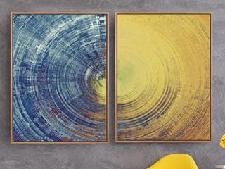 北欧现代简约客厅挂画三联沙发背景墙壁画卧室餐厅书房抽象装饰画