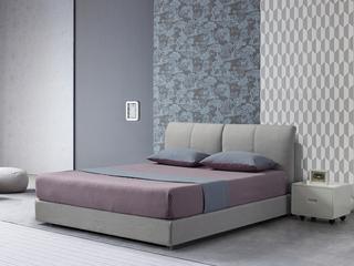 凤凰天  高档舒适亲肤面料 结构坚固框架 软包现代简约风格1.8米双人床