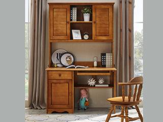 结构坚固实木框架 简约大方 现代简约风格书桌