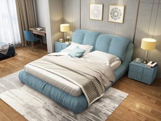布艺系列床1.8米