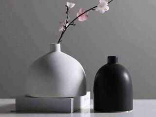 陶瓷两件套陶瓷花插(包邮)
