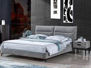 弗雷娅 床品六件套:被套(被芯)4个枕头(枕芯)+1张床笠
