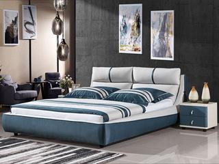 弗雷娅 床品四件套:2个枕头(枕芯)+1个被子(被芯)+1张床苙