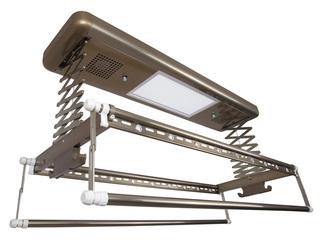 卫欲无限 【包邮 送货到楼下(偏远地区除外)】 620自然风干+紫外线消毒+LED照明多功能晾衣架 古铜色升降晾晒架 可升降