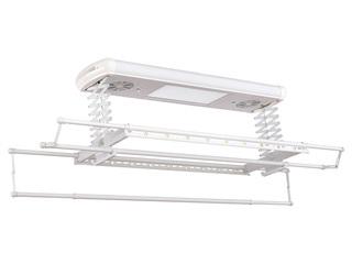 卫欲无限 【包邮 送货到楼下(偏远地区除外)】 622自然风干+紫外线消毒+LED面板照明多功能晾衣架 白色升降晾晒架 可升降