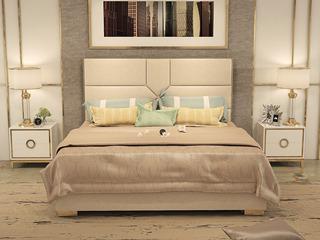 舒纤 艾森轻奢仿真皮1.8*2.0米高箱床