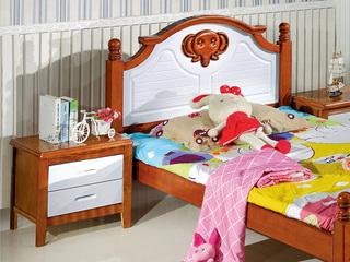 汉鼎 儿童床床头柜