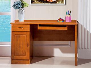 汉鼎 柚木色1.2米电脑桌