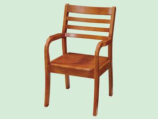 汉鼎 柚木色围椅