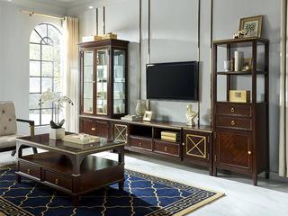 邦美森 现代美式电视柜