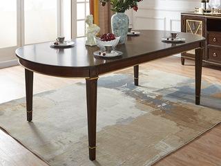邦美森 现代美式长餐桌(1680)