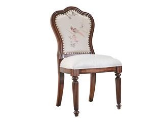 邦美森 现代美式无扶手餐椅(E款)