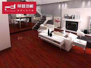 地板 纯实木地板正品 天然实木地板 高贵典雅 巴新番龙眼 钢琴烤漆 厂家直销FY805-1
