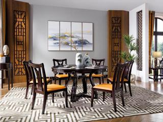 柏莎贝尔 新中式系列餐桌