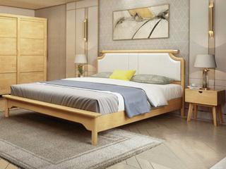 申奥家具 大方有林系列1.8米床