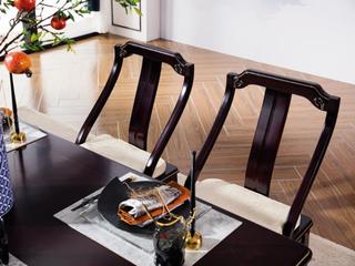 柏莎贝尔 新中式系列餐椅