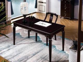 柏莎贝尔 新中式系列书桌