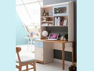 榕瀚 地中海书桌5503# 1.0米直角书桌