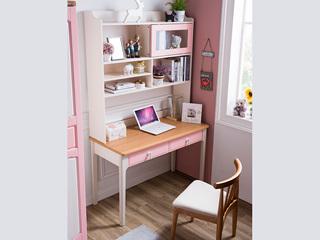 榕瀚 地中海书桌5505# 1.2米直角书桌