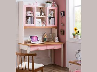 榕瀚 地中海书桌5508# 1.2米直角书桌