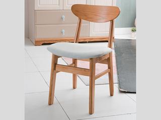 榕瀚 地中海书椅B款实木椅子