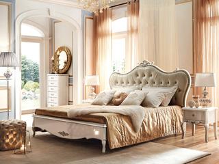 苔丝系列 白领挚爱 精美皇冠雕花 高档皮艺靠背 1.5米床