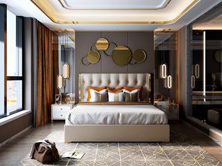 慕梵希 轻奢豪华版卡其色 高端纳帕皮 北美进口落叶松坚固框架 A19床 1.5*2.0米高箱床