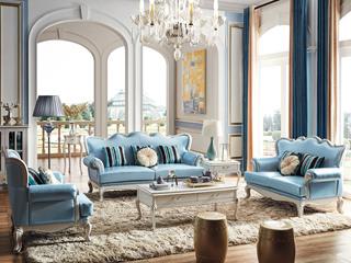 柏莎贝尔 苔丝系列 简欧风格 精致进口油蜡皮沙发 舒适手感 高贵品格 沙发组合(1+2+3)