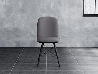 诺美帝斯 意式极简餐椅 H1003深灰餐椅