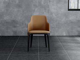 诺美帝斯 意式极简餐椅 H1060咖啡餐椅