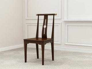 檀宫御品 新中式 优质进口黄金檀木 FA1901 餐椅
