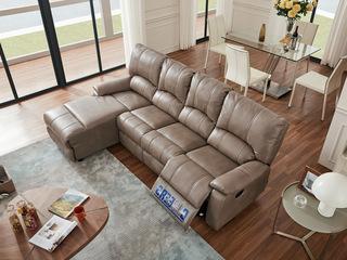芝华仕 头等舱现代简约布艺功能沙发组合客厅软小户型整装家具8928百搭易清理布艺