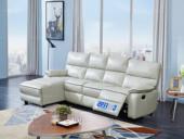 芝华仕 头等舱沙发现代简约真皮组合客厅头层牛皮太空舱小户型5399高性价比小户型真皮功能沙发