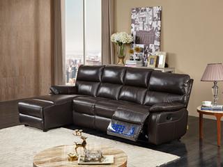 头等舱沙发现代简约真皮组合客厅头层牛皮太空舱小户型5399高性价比小户型真皮功能沙发