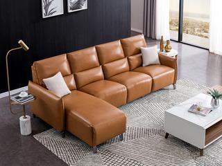 意式轻奢极简真皮北欧客厅沙发简约现代组合后现代10070